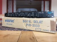 Phonic PDD 3000 Digital Delay JHS Model