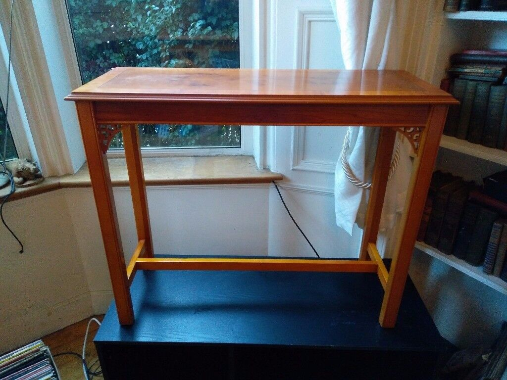 2x Hardwood Side Table