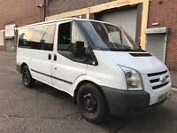Ford Transit 2007 2.2 TD 280 S Bus 5 door (9 Seat) 3 MONTHS WARRANTY, NO VAT, NEW SHAPE, BARGAIN
