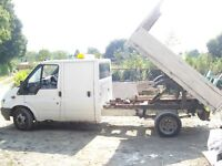 FORD TRANSIT TIPPER 2000 ON A X PLATE