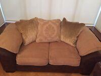 DFS Martinez sofa, 3 seater, 2 seater, chair & storage pouffe