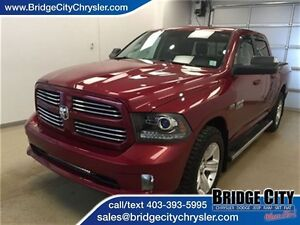 2014 Ram 1500 Sport- Heated seats and wheel, Alpine Audio!