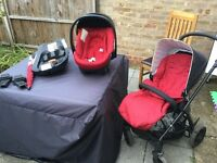 Mamas and papas sola pushchair with car travel system