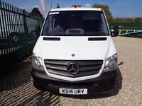 MERCEDES-BENZ SPRINTER 2.1 313CDI Chassis Cab 2dr SWB (white) 2015