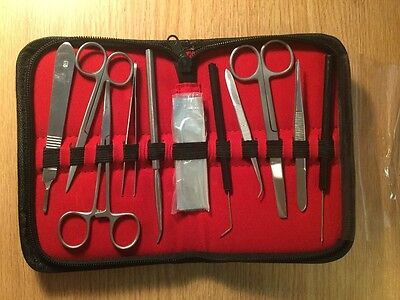 20 Pieces Advanced Biology Anatomy Dissection Kit