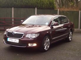2012 SKODA SUPERB ELEGANCE 2.0TDI CR 140 Hatch *LOW MILEAGE* 1 Owner