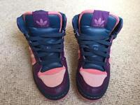 Adidas High Top Trainers Size 7