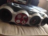 Rare Philips woox boombox ghetto blaster