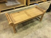 Wooden Garden Bench Seat - £35.00 - 4 available
