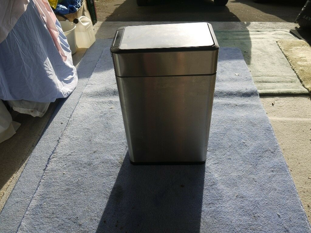 Stainless Steel Kitchen Bin 40 Litres 119 On