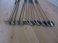 Golf Clubs - Tour Gold Boron (12 clubs/drivers in total