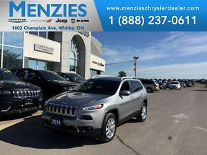 2016 Jeep Cherokee Limited 4x4, Nav, Bluetooth, Clean Carproof