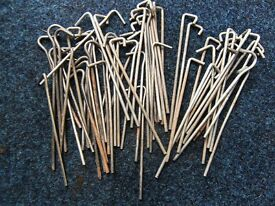 Wire Tent Pegs