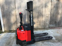 Pallet Stacker Truck Fully Electric 1200kg 2700mm 3 pin UK plug only 775 hours inc VAT