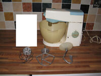 Vintage Kenwood Chef Attachments, Model A701A (also spares or repair Food mixer Please read below)