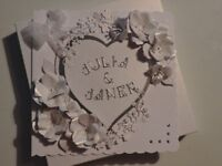 Handmade Cards & Boxes for all occasions. Can be personalised.