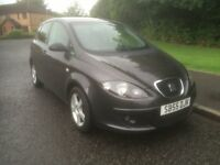 Seat Altea 1.6 Reference 5dr SERV/ HISTORY , MOT MAY 2017