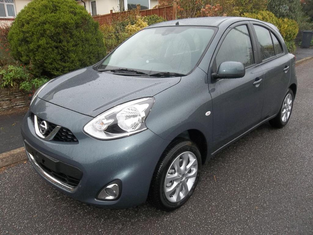 nissan micra 1 2 acenta 5dr tungsten grey 2016 in sidmouth devon gumtree. Black Bedroom Furniture Sets. Home Design Ideas