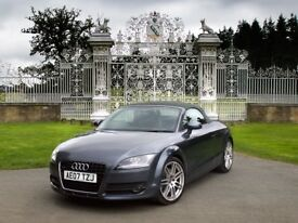 AUDI TT 3.2 V6 ROADSTER S-TRONIC QUATTRO - Top spec, FSH, 12 mths MOT, No Advisories
