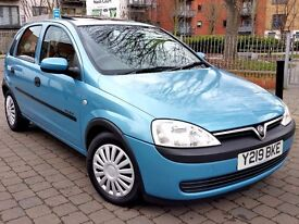 vauxhall corsa 1.2 1 lady owner from new full vauxhall services history