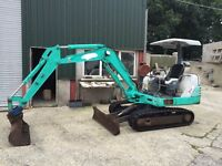 2002 IHI 3 Ton Mini Digger - Isuzu Diesel Engine - 4 Buckets - Quick Hitch*1700 HRS*ONE OWNER NO Vat