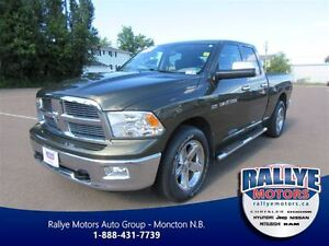 2012 Ram 1500 SLT 4x4 Quad Cab 140 in. WB! Traction and Stabilit