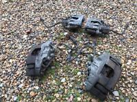 Vauxhall Vectra C Gsi Big Brake Upgrade front and rear calipers with pads. 314mm/292mm