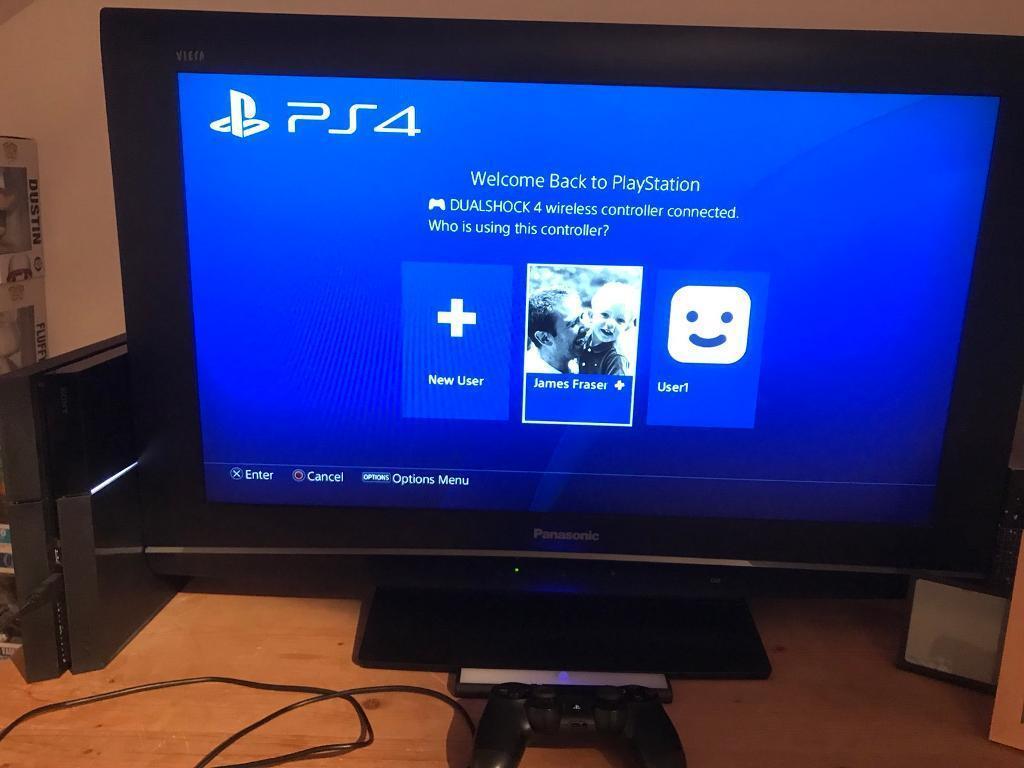 PlayStation 4-500gb black