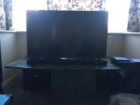 "43"" LG Smart 4K television + Sound Bar"