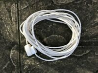 15m. single extension lead and worklamp (1.5m)