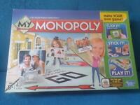 Monopoly board game - brand new