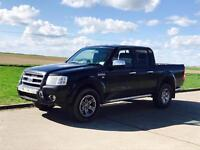 FORD RANGER 'THUNDER' D/CAB PICK-UP (2007) '2.5 TDCI - 143 BHP - LEATHER - A/C' (NO VAT - SAVE 20%)