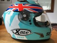 X-LITE CRASH HELMET. DANNY KENT RACE REP. COLOURS. XL