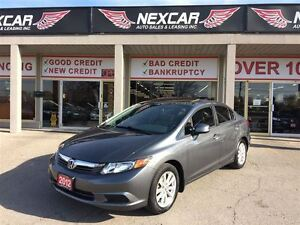 2012 Honda Civic EX 5 SPEED A/C SUNROOF ONLY 81K
