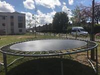 10ft trampoline - no net or ladder