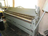 Edwards Box Pan Sheet Metal Folding machine, 2.5m
