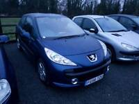 Peugeot 207 1.4L sport 3DR 2006 full service history excellent condition