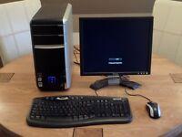 Packard Bell Desktop PC – Intel Core 2 Quad Q6600 @ 2.4GHz – 3GB RAM – 300GB HD