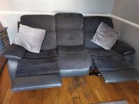 Charcoal Grey 3 Seater