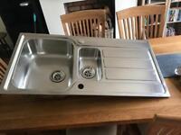 Astrocast Linus 1.5 bowl stainless steel kitchen sink