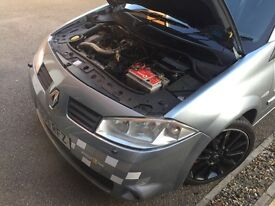 Renault Megane 225, BC coilovers