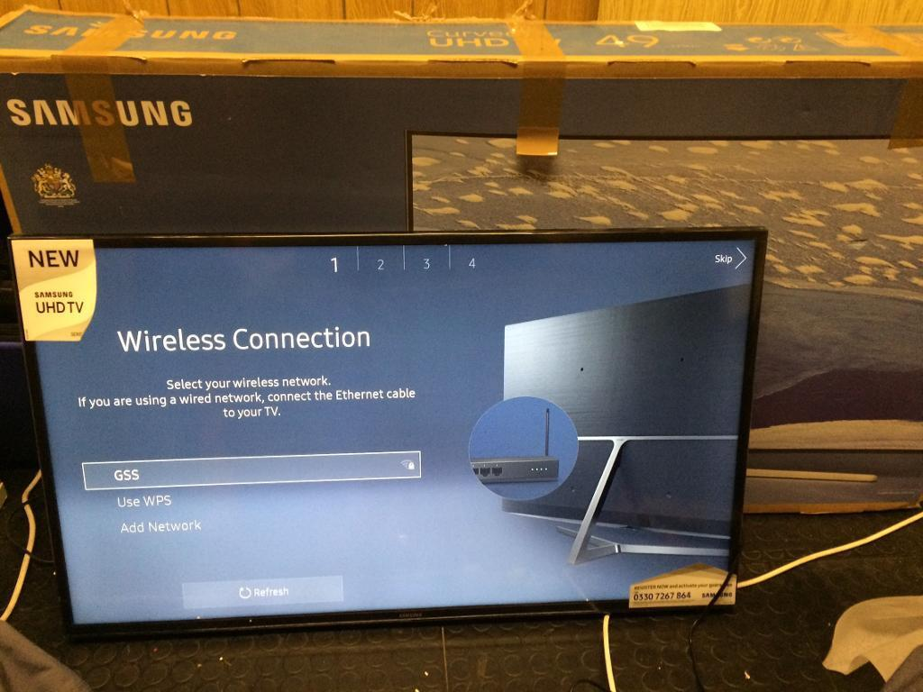 "Samsung 43"" 4k smart HDR 2016 Model Bargain"
