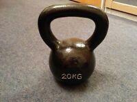 Kettlebell - Cast Iron - 20kg