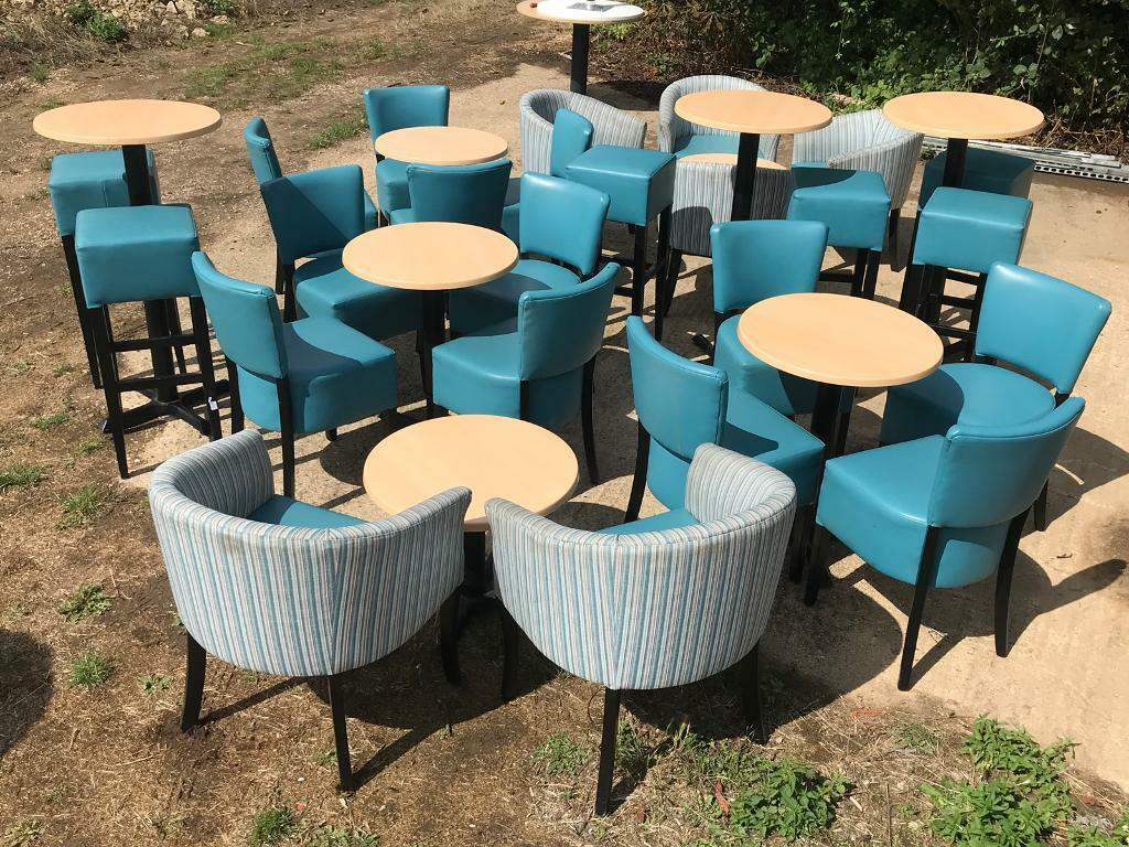 Cafe/Pub/Restaurant Job Lot Stools Tables Chairs Tubs | in Spalding ...