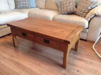 Oak Coffee Table - Oak Furniture Land