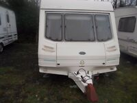 4/5 Berth Sterling europa 1999 with motor mover awning & extras