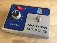 MU-TRON Micro V Envelope Filter - Early 1970s Musitronics vintage pedal guitar/bass