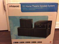 Polaroid 5.1 speaker with remote