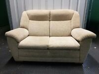 Beige 2 Seater Sofa and Armchair