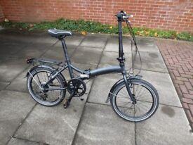Dawes Kingpin folding bicycle dark grey